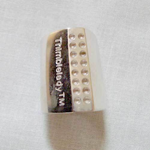 Silver Finger Quilting Thimble