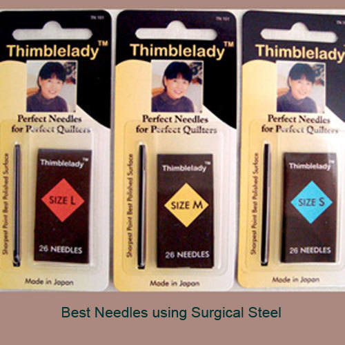 Hand Sewing Quilting Needles - Thimblelady : best needles for hand quilting - Adamdwight.com