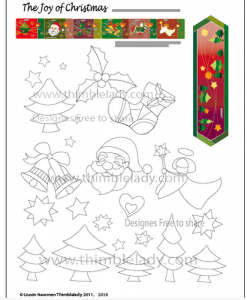 Free_Christmas_Quilt_Pattern_elements