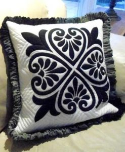 Quilted Cushion Pattern - Turkish Delight