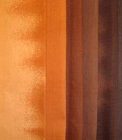 brown quilting fabric