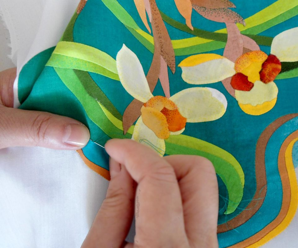 Hand applique tutorial for beginners